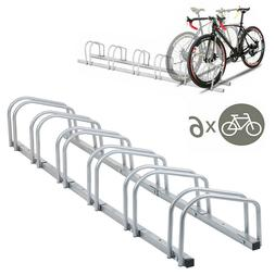 Bicycle Bike Floor Parking Storage Stand Display Rack Holder