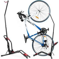 Bike Floor Stand Bike Rack Stand for Vertical/Horizontal Ind