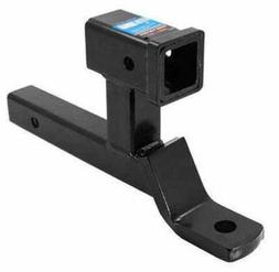 Dual Towing Tow Hitch Receiver Ball Mount Double Adapter for