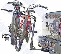 Dual Twin Two Bike Bicycle Auto Trailer Tow Hitch Mount Carr