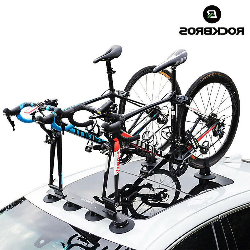 bike bicycle rack carrier suction roof top