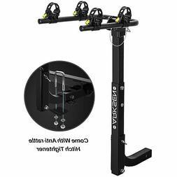 Premium 2-Bike Carrier Rack Hitch Mount Swing Down Bicycle R