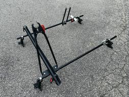 "Yakima Roof Rack System 58"" Round Bar 2 Bike Rack Lockjaw -"