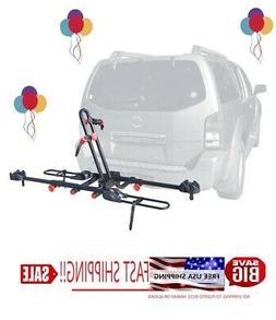 Allen Sports Easy Load Deluxe 2-Bike Hitch Rack for 1 1/4  a